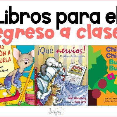Libros para el regreso a clases