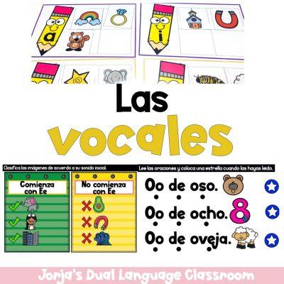 Actividades de las vocales para niños