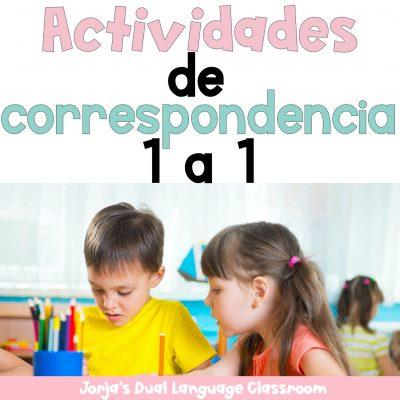 Actividades de correspondencia 1 a 1