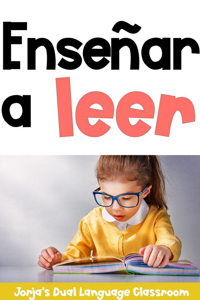Ejercicios para enseñar a leer en preescolar o primer grado